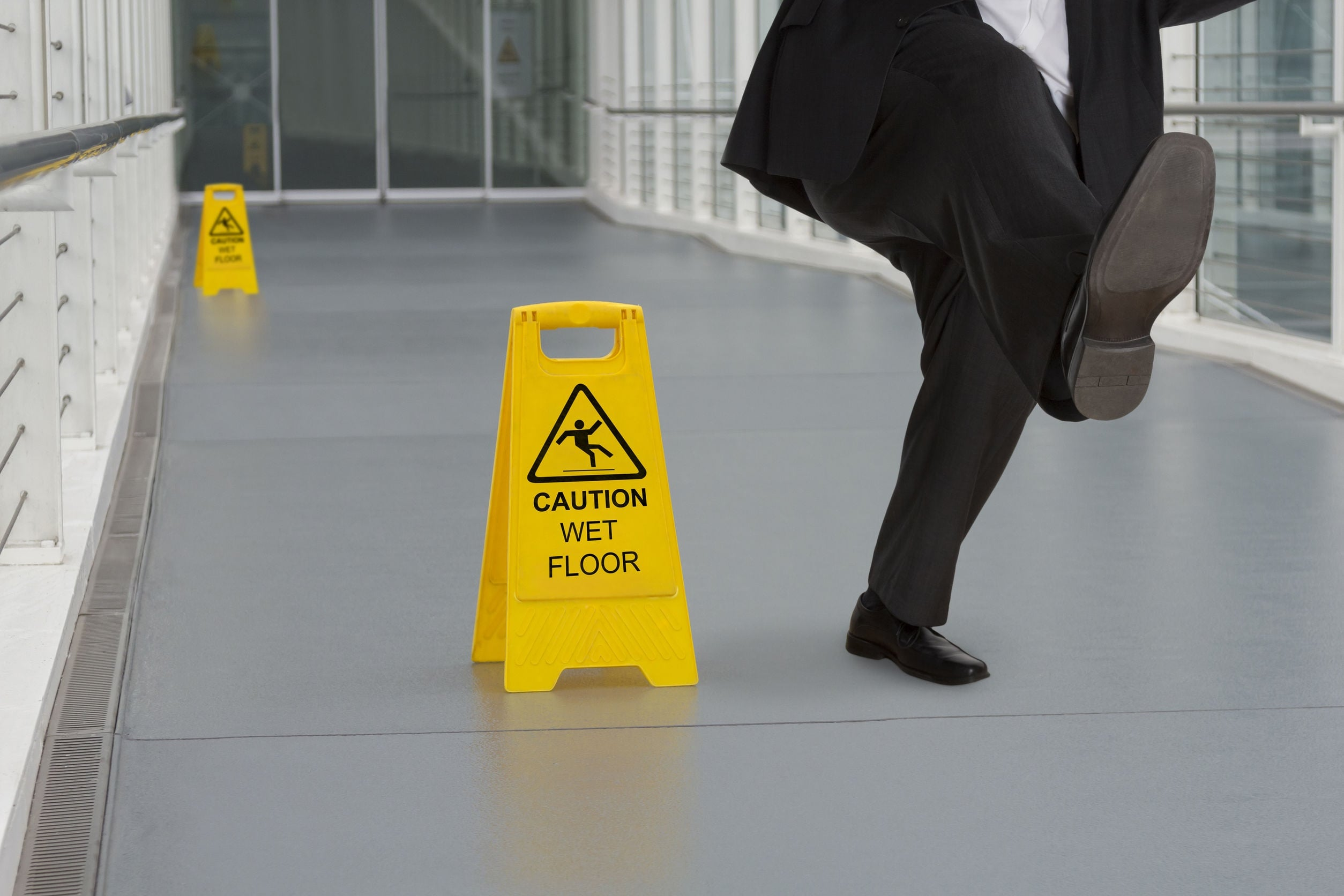 What Causes Florida Slip and Falls?
