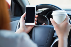 distracted driving accident claim